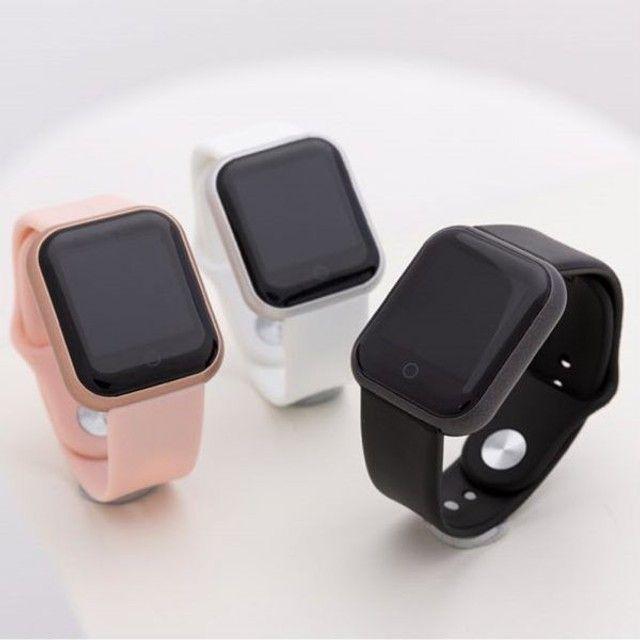 ?Smart watch relógio inteligente com medidor de batimento cardíaco e contador de passos??? - Foto 2
