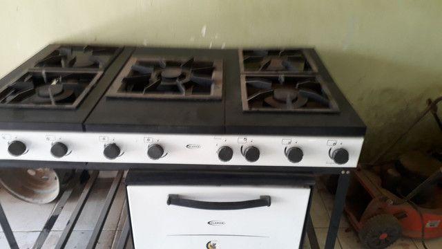 Vendo fogão Clarice industrial  - Foto 5