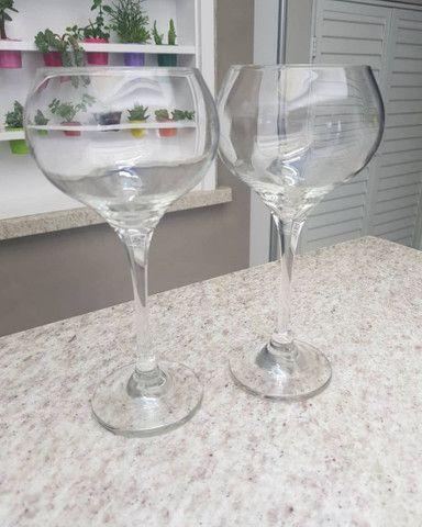 5 taças de vinho  - Foto 3