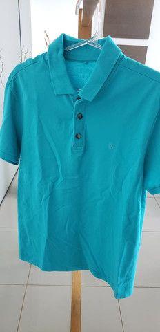 Camiseta polo john john azul - Foto 3
