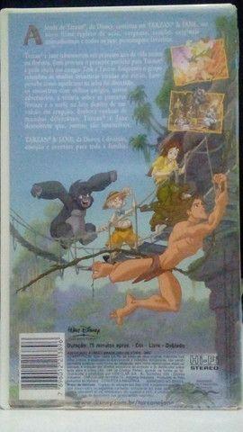 VHS - Tarzan & Jane (Dublado)(Original)  - Foto 2