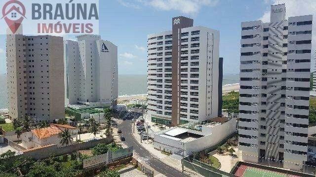 Cond. Dellamare - 3 suítes 110 m² na Ponta do Farol (nascente e ventilado com vista mar) - Foto 2