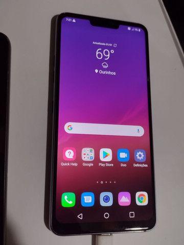 "LG G7 ThinQ / 4gb RAM / 64gb memória / tela 6.1"" Octacore - Foto 4"