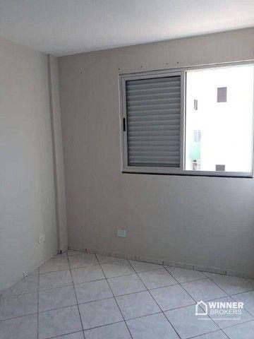 Apartamento com 3 dormitórios para alugar, 69 m² por R$ 950,00/mês - Vila Bosque - Maringá - Foto 2
