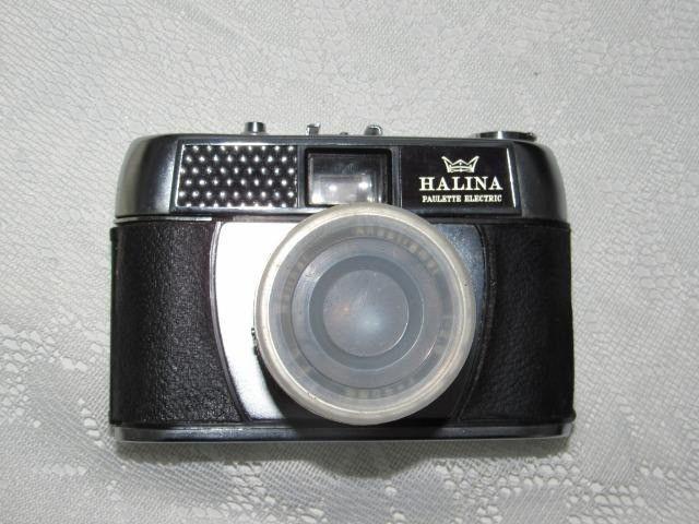 Máquina antiga fotográfica Halina Paulette - Foto 5