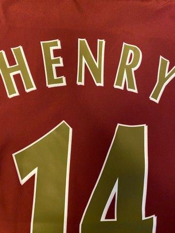 Camisa Arsenal 05-06 Henry - Foto 5