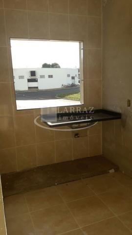 Apartamento com quintal privativo novo para venda em brodowski na saída para serrana, 2 do - Foto 5