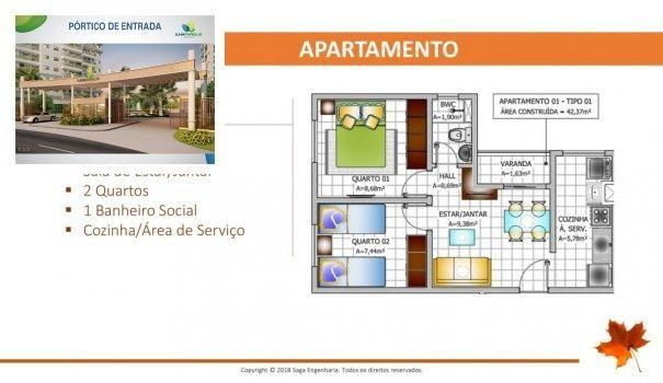 BELLEVILLE - Apartamento em Lançamentos no bairro Forquilha - São Luís, MA - Foto 9