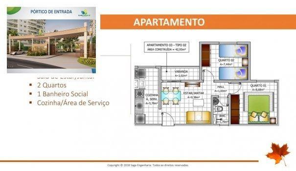 BELLEVILLE - Apartamento em Lançamentos no bairro Forquilha - São Luís, MA - Foto 11
