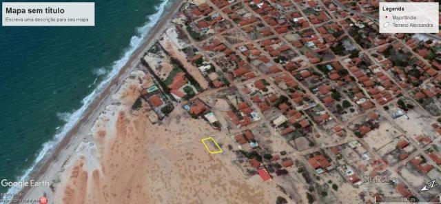 Oportunidade - Terreno em Majorlândia frente mar - Foto 2