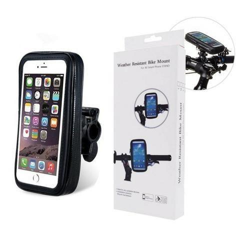 Suporte Moto Bike Impermeável Case Capa para Celular Smartphone Gps Bicicleta - Foto 4