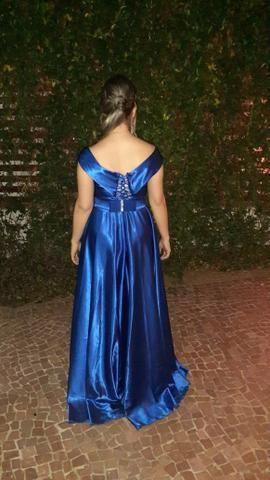 Vestido Madrinha De Casamento Azul Royal
