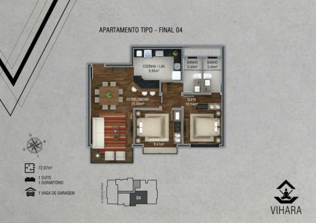 Apartamento à venda com 2 dormitórios em Centro, Canela cod:NI05527 - Foto 4