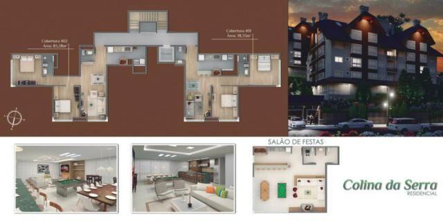 Apartamento à venda com 1 dormitórios em Centro, Gramado cod:NI05516 - Foto 4