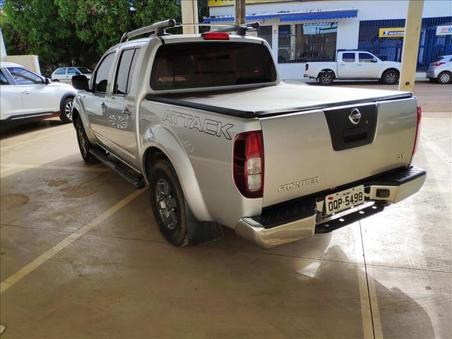 NISSAN FRONTIER 2.5 SV ATTACK 4X2 CD TURBO ELETRONIC DIESEL 4P MANUAL - Foto 6