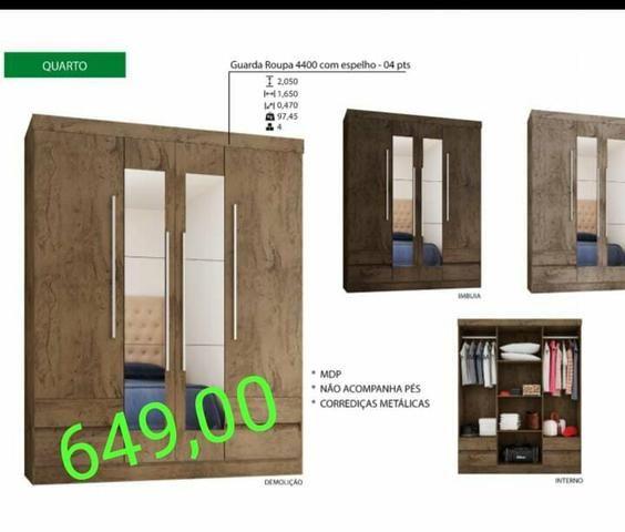 Lindo guarda roupa com espelho - Móveis - St Garavelo, Aparecida De ... aa6f74a8b2