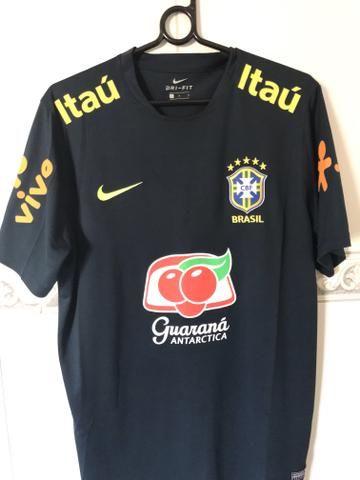 Camisa Seleção Brasileira Treino Original - Roupas e calçados ... 0b3f578467934