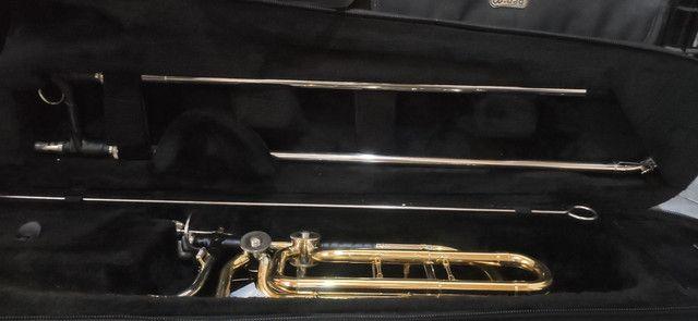 Trombone Baixo de Vara Harmonics - Foto 2