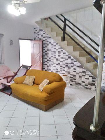 Sobrado centro de São Vicente 03 dormitórios Ac. troca por apartamento na Praia - Foto 8