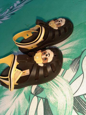 Sandálias masculina de criança  - Foto 4