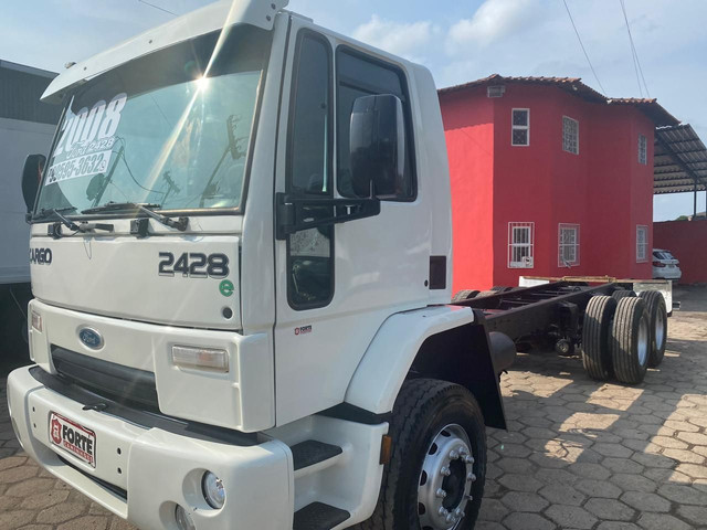 Ford cargo 2428 2008 truck no chassis - Foto 2