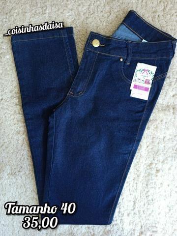 Calça jeans tamanho 40 nova
