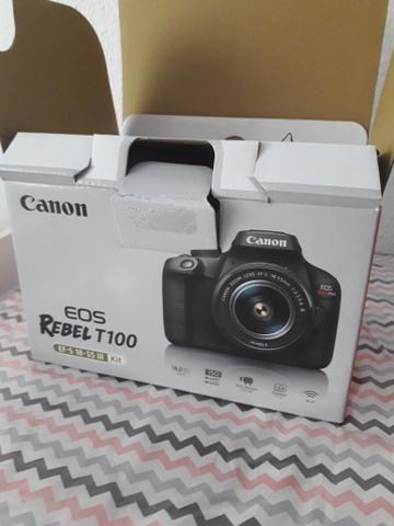 Câmera Canon T100 *Nova - Foto 5