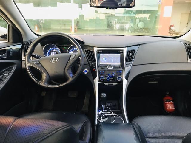 Sonata 2012 GLS versão Mais Top Aro 18 - Foto 10