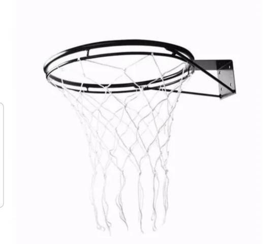 Aro de basquete NOVO profissional adulto reforçado com rede