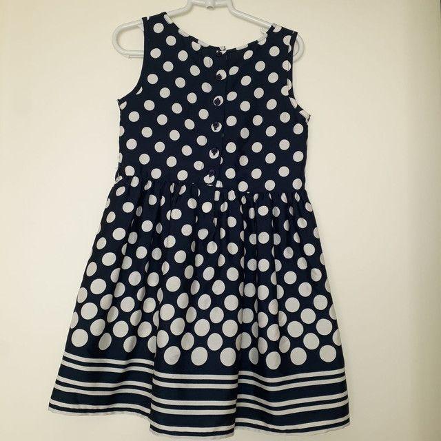 Vestido Bolinhas Perfeito estado  Tamanho 4  - Foto 3