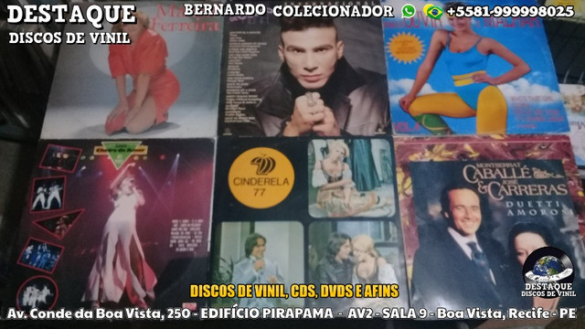 Discos de Vinil de Novelas, E Outros Tipos, CDs e DVDs - Foto 3