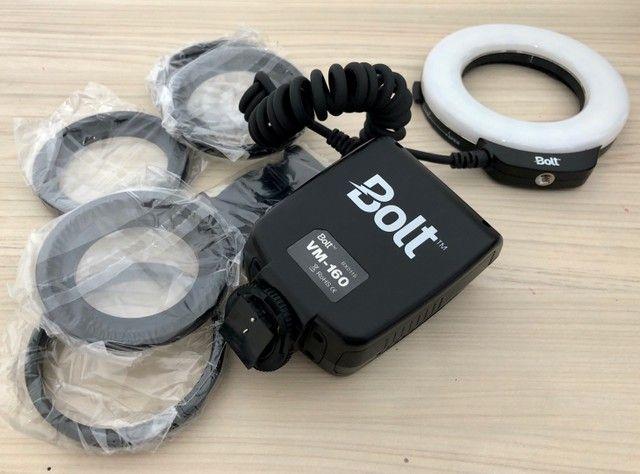 Flash Macro Bolt VM 160 na caixa - Foto 4