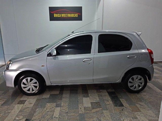 Toyota Etios X 1.3 completo / Multimidia Original / Pneus novos / Ipva Pago - 2016 - Foto 2