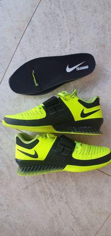 Nike Romaleos 3 - Tênis de LPO e CrossFit/ FlyWire.