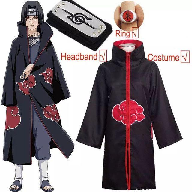Kit Manto Akatsuki Naruto