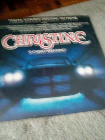 "Disco de vinil ""Christine"""