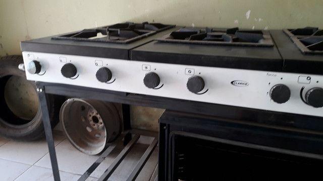 Vendo fogão Clarice industrial  - Foto 3