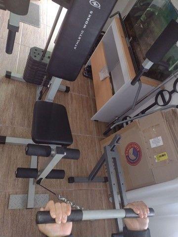 Estação musculação semi nova - Foto 3