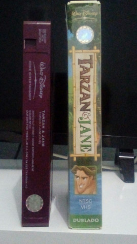 VHS - Tarzan & Jane (Dublado)(Original)  - Foto 3