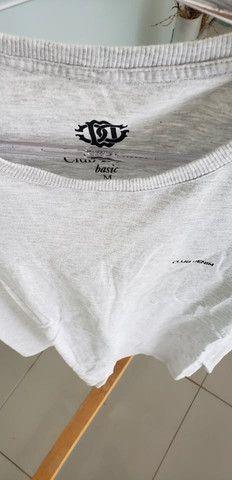 Camiseta club denim cinza
