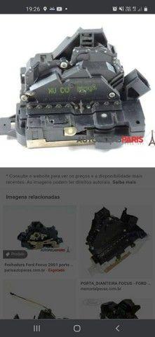 Fechadura com trava eletrica Focus dianteira esquerda - Foto 2