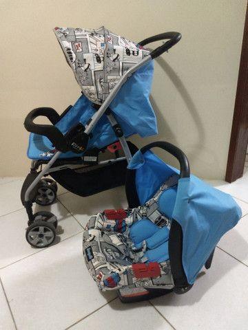 Carrinho com bebê conforto Burigotto - Foto 2