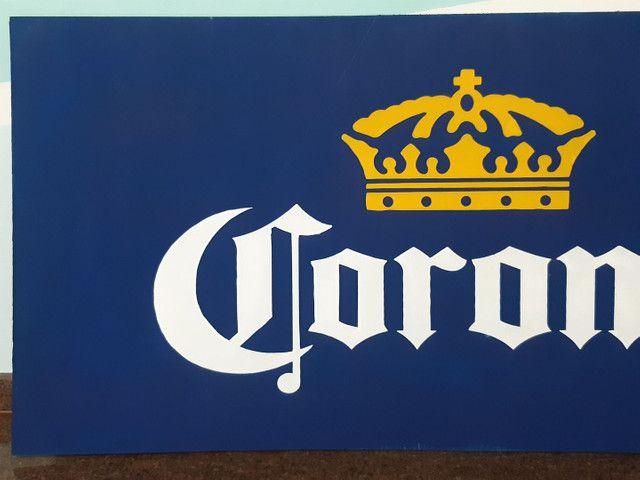Corona letreiro/placa - Foto 3