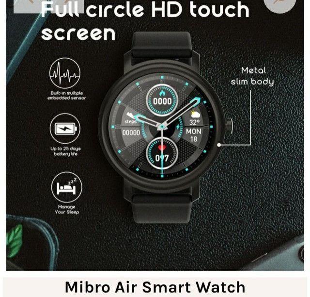 Smartwatch Mibro Air Versão Global Relógio Original Xiaomi Pronta Entrega Lançamento - Foto 5