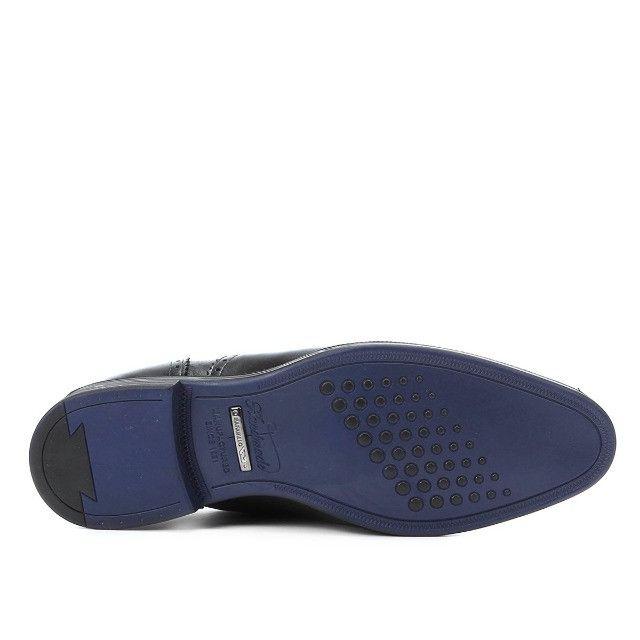 Sapato Social Rafarillo Macerata ( 38 ) Preto. Extremamente confortável - Foto 6