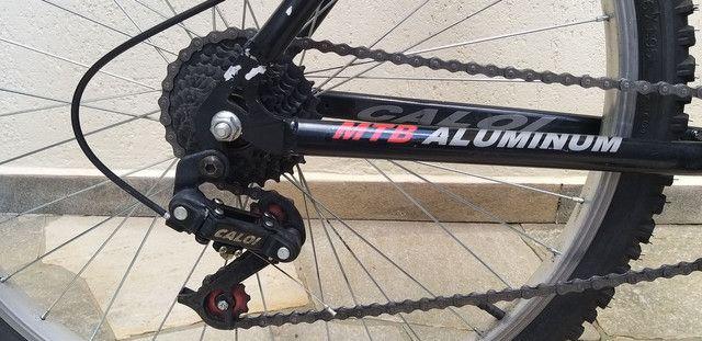Bicicleta Caloi aro 26. (SOMENTE VENDA) - Foto 3