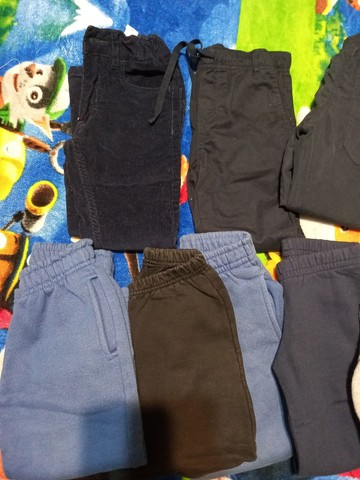 Lote calças tamanho 2/3 meninos - lote2