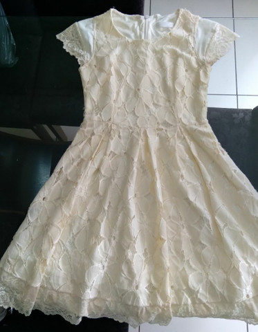 Vendo vestido de Renda