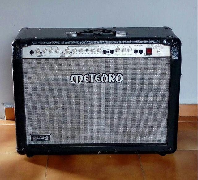 Cubo Para Guitarra Meteoro Vulcano G200 Híbrido
