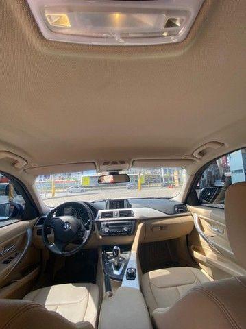 BMW 320i apenas 65.000 km branco pérola 2014 - Foto 9